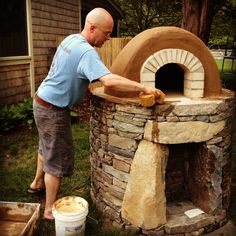 how to build a mud oven