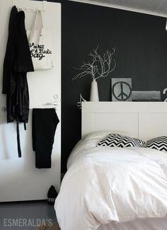 DIY: perchero para la habitación por 1,50¬