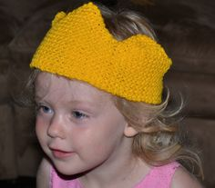 Custom-Fit Crown Free Knitting Pattern - Knit a Crown for Any Size Head