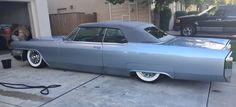 1965 slammed Cadillac vert