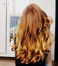 Strawberry Blonde. Im in love with this color.