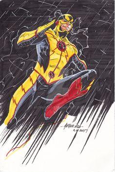 Reverse Flash redesign by ArthurJego.deviantart.com on @DeviantArt