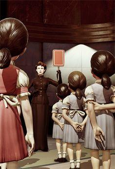 Little Sister School. BioShock.