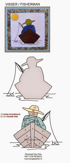 Iris Fold: Fisherman
