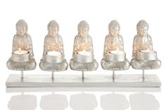 Buddha Tealight Candle Holder on stand Home Decoration from Earth Homewares