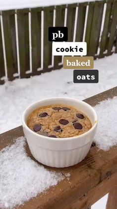 Healthy Sweets, Healthy Dessert Recipes, Healthy Baking, Snack Recipes, Fun Baking Recipes, Oats Recipes, Baked Oats, Easy Snacks, Food Cravings