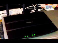TP-LINK N600 TD-W9980 unboxing