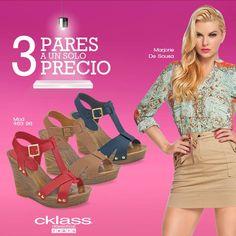 ¡3 pares a 1 solo precio! Conoce el six pack de #Cklass, con colores básicos para el verano, que te harán lucir sencilla y a la moda. www.cklass.com