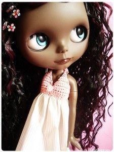 black blythe doll | Blythe dolls - Glossaire Blythe de… - Black is beautiful… - Blythe ...
