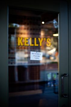 kelly's | yountville