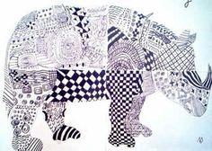 Bildnerische Erziehung in der Volksschule: Rhinocerus