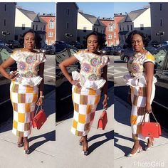 Check Out This Lovely Skirt and Blouse Ankara Styles Combination - DeZango Fashion Zone