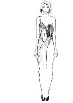 21st century bodies --  drawing from stefanie nieuwenhuyse