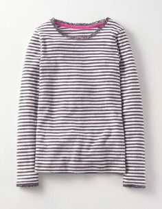 Mini Boden Sparkle Pointelle T-shirt Soot/Pewter Stripe Add a bit of sparkle to any outfit with our supersoft striped tee. Glittery metallic thread and frilly lace trim on the neck and cuffs will make you party-ready in no time. Dress up a pair of jeans or http://www.MightGet.com/january-2017-13/mini-boden-sparkle-pointelle-t-shirt-soot-pewter-stripe.asp