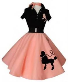 Poodle skirts, need I say more. We loved poodle skirts! 1950s Style, Style Retro, My Style, Fashion In, 1950s Fashion, Vintage Fashion, Womens Fashion, Fashion Trends, Hippie Fashion