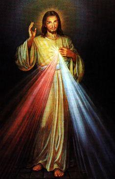 "The Divine Mercy image ""Jesus, I trust in Thee"""