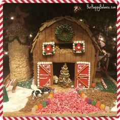 Peddler�s Village Gingerbread House Competition