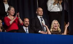 Crown Prince Haakon of Norway and Crown Princess Mette-Marit of Norway attends the 2015 Nobel Peace Prize Concert at Telenor Arena on December 11, 2015 in Oslo.