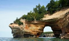 In winter, fewer people head to Pictured Rocks to enjoy the amazing lakeshore.