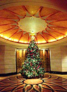 Isn't @Mandy Bryant Dewey Seasons Hotel Singapore's tree magnificent? #HowToHoliday