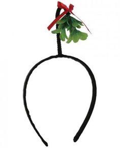 Christmas-Mistletoe-Hat-Headband-Holiday-Funny-Gag-Gift-Funny-Unisex-Adult-Tiara
