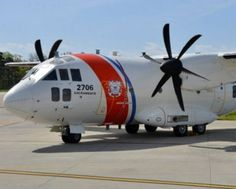 US Coast Guard HC-27J_USCG_Farnborough_jul2016_Finmeccanica