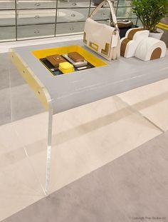 FormRoom for Anya Hindmarch   Deco Interior   #AnyaHindmarch #RetailInteriors #VM #RetailDisplay #Bespoke