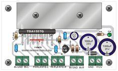 Amplificador ultracompacto - Hazlo tú mismo en Taringa! Amplificador 12v, 2 In