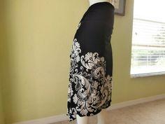 Milonga Tango & Salsa Skirt fits US 2 to 8 by COCOsDANCEWEAR