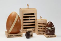 Brings a whole new meaning to chocolate eggs. Your daily chocolate fix for all our #packaging peeps PD