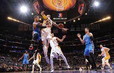 Thunder at Los Angeles Lakers Game – March 1, 2015 | Oklahoma City Thunder
