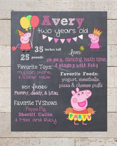 Celebrate your little ones birthday with a chalkboard sign that will last forever. This listing is for a digital file that you can print out and