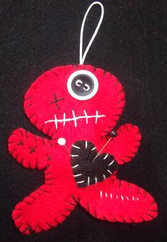 Cutie Voodoo Whodoo keyring doll. Available from my ebay store http://stores.shop.ebay.co.uk/Voodoo-Whodoo