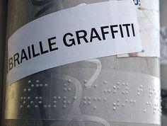 braille graffiti