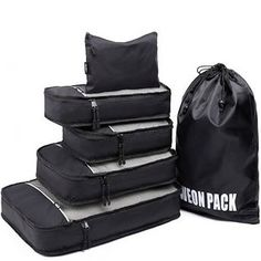 dad3d5e83a Durable packing cubes that are essential for traveling. Suitcase Packing