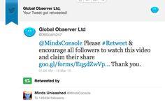 #MindsConsole Endorsement Mind Unleashed, Encouragement, Mindfulness, Consciousness