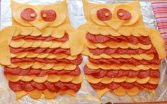 Owl Meat and Cheese Platter