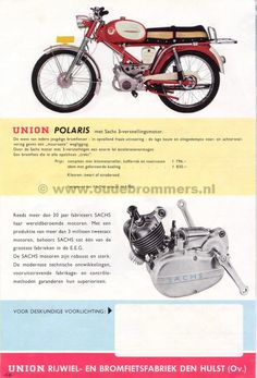 Union polaris Holland Bike, 50cc, Scooters, Cars And Motorcycles, Honda, Motorbikes, Bicycle Kick, Motor Scooters, Vespas
