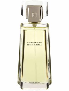 Carolina Herrera perfume is a gorgeous bouquet of white florals - gardenia, tuberose, jasmine...it really fits with the designer's classic, feminine aesthetic.