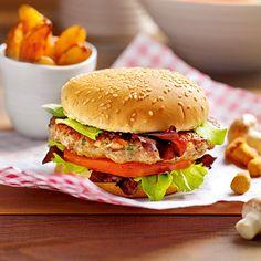 Pilzburger mit Tomatensalat Rezept | Küchengötter
