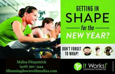 Going into the new year, wanna get in shape and be a healthier you? Contact me today. Slimmingdownwithmalisa.com