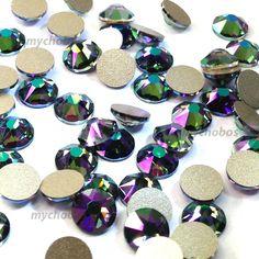 c467ff5ff 1440 Swarovski 2058 10ss flatback rhinestones nail art ss10 CRYSTAL AB (001  AB)   Swarovski   Swarovski crystals, Swarovski, Crystals