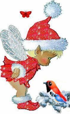 Vintage art deco print christmas cards 32 New Ideas Christmas Fairy, Christmas Clipart, Vintage Christmas Cards, Christmas Printables, Christmas Pictures, Christmas Angels, Xmas Cards, Winter Christmas, Christmas Time