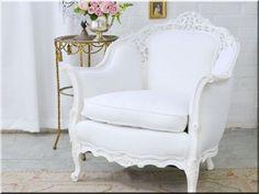 egyedi bútor, felújított neobarokk fotel