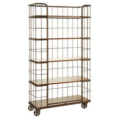 Check out the Universal Furniture 313674 Cordevalle Bakery Rack in Vintage/Heirloom Wood Shelves, Storage Shelves, Shelving, Diy Storage, Kitchen Storage, Storage Ideas, Bakers Rack, Rack Shelf, Kitchen Essentials