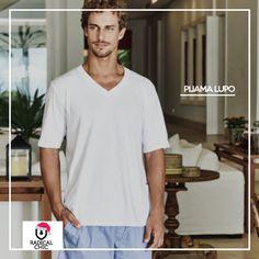 Para um sabádo tranquilo, nada melhor que um pijama que te deixe confortável. Nada melhor que um pijama Lupo. #lupoélove #radicalChic #ModaMasculina #TodaHoraÉ