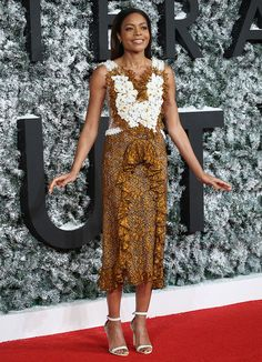 Naomie Harris in Rodarte Spring 2017 dress