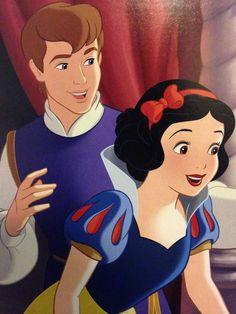 Princess Snow White and prince Ferdinand