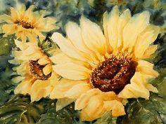 Sunflowers 3 - Linda Virio