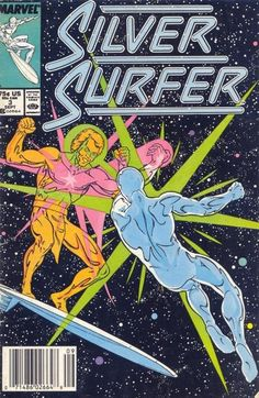 Silver Surfer Vol. 3 # 3 by Marshall Rogers & Joe Rubinstein